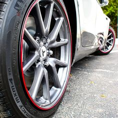 EVANNEX - Tesla Model 3 Rim Protection Wheel Bands