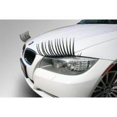 Carlashes eyelashes and crystal eyeliner are the newest hot products for your car. Car bling! Prom, out for Homecoming, wedding events, Valentine's...