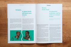 Ein Magazin von Studierenden der HSG in St. Gallen zu aktuellen wirtschaftlichen Themen, das seit Herbst 2014 alle sechs Monate erscheint. In der ersten Ausgabe illustrierte ich zudem die Artikel.