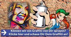 Es pot ruixar un grafit de tu?  Cliqueu aquí i ens fixem en el Graffiti!