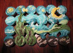 Night cupcakes