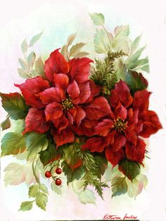 Poinsettias.. Jenkins art