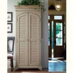 Paula Deen utility cabinet in Linen finish, $863.oo
