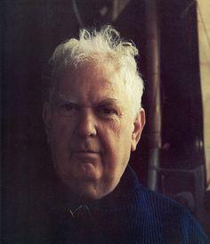 The man himself - Alexander Calder - at home