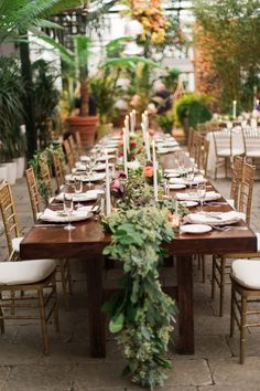 Ruffled - photo by http://www.kellysweet.com/ - http://ruffledblog.com/botanical-garden-wedding-with-glass-ceilings | Ruffled