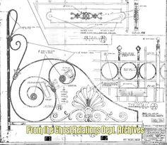 haunted mansion gate blueprint