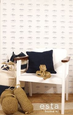 This collection epitomizes the ultimate beach and maritime look, and brings a relaxing and adventurous atmosphere indoors. You'll feel like you're living in a beach house and its summer all year long. Stuart Graham, Port Elizabeth, Inspirational Wallpapers, Beach House, Surfing, Indoor, The Originals, Fabric, Furniture