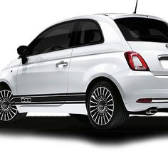 Fiat 500 Side Racing Stripes Decal Stickers Vinyl /Tuning Car Size 167x12.5Cm