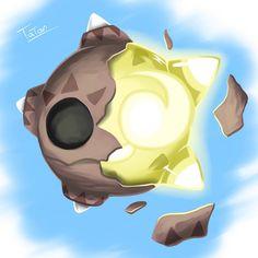 Minior Pokemon Sun Pokemon Moon by tatanRG.deviantart.com on @DeviantArt