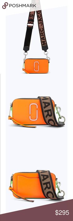 """d73fd432191 Marc Jacobs """"Snapshot Collection"""" Bag Bold and compact, our best-selling  Snapshot"""