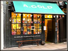A. Gold - Traditional Foods of Britain, in Brushfield Street