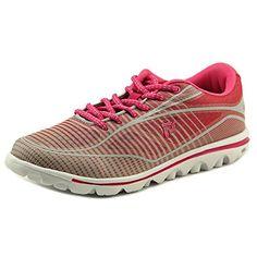 b3a2e073f2d87 Propet Womens Billie Walking Shoe 85 2E US PinkGrey  gt  gt  gt  More