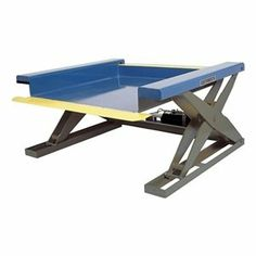 Scissor Lift Table, 2000 lb., 115V, 1 Phase by Southworth. $7675.67. Scissor Lift Table, Load Capacity 2000 lb., Powered By Electric, Voltage 115V, 1 Phase, Platform Length 48 In., Platform Width 50 In., Raised Height 35 In., Lowered Height 3/8 In., Up Speed Seconds 48, Frame Material Steel, 1 HP, Platform Style Fixed Southworth Furnished with NEMA 1 foot switch control with safety cover and control cord. Adjustable down speed. Lift cylinder vented to reservoir. Maintenanc...