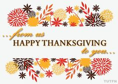 Wishing our fellow Trews fans in the US a Happy Thanksgiving today - be safe in your travels, eat all the food, and here's to love and laughter with your families and friends. We are grateful for you! - sv