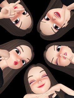 Graffiti Wallpaper Iphone, Emoji Wallpaper, Cute Wallpaper Backgrounds, Aesthetic Iphone Wallpaper, Cute Wallpapers, Girl Emoji, Bff, Girly M, Hijab Cartoon