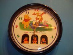 Winnie The Pooh Dancing Wall Clock from Disney