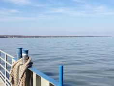 First run of the season, 2013. Gentle spring day aboard Miller Ferry to Put-in-Bay, Lake Erie, Ohio