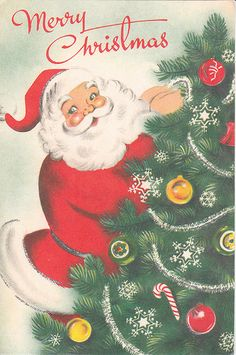 15 Classic Christmas Card Ideas — Retro and Vintage Holiday Greetings 2018 Vintage Christmas Images, Retro Christmas, Vintage Holiday, Christmas Pictures, Christmas Art, Christmas Ornaments, Christmas Mantles, Christmas Villages, Victorian Christmas