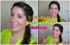 ☼ No-Melt ~ Summer Proof Makeup ☼  http://www.sparklemepink.com/2013/06/no-melt-summer-proof-makeup.html