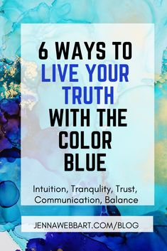 blue color psychology — Jenna Webb Art—Complete Alcohol Ink Painting Guide - Abstract Art for the Soul Alcohol Ink Painting, Alcohol Ink Art, Abstract Painters, Abstract Art, Jenna Webb, Live Your Truth, Feeling Frustrated, Color Meanings, Selling Art Online