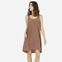 The Silk Tank Dress - Everlane