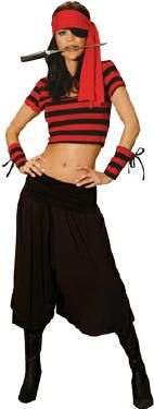 Female Pirate Costume Adult Size