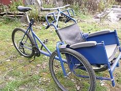 Spindles & Sprockets: wheelchair bike for community use