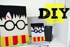 DIY Harry Potter - Caderno e case de celular