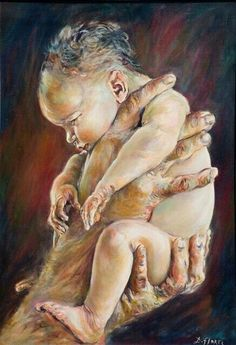 "Exo 2:6 And when she opened it, she saw the child, and behold, the baby wept. So she had compassion on him, and said, ""This is one of the Hebrews' children."""