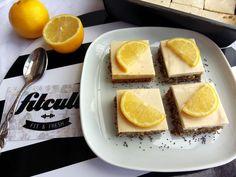 Citronovo-makový koláč s tvarohem