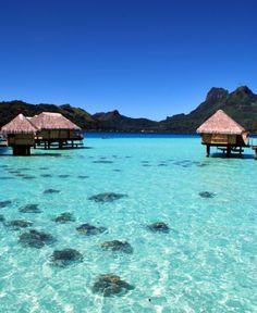 Bora Bora... Beach Fashion, Cute Bikini, Sexy Bikini