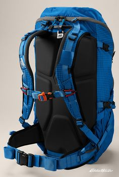 Ultimate Day Pack: the Alchemist© 25 expands to a 35-liter capacity so you can extend that day trip to 48 hours.