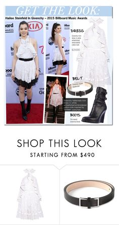 """Get The Look-Hailee Steinfeld In Givenchy – 2015 Billboard Music Awards"" by kusja ❤ liked on Polyvore featuring Givenchy, GetTheLook, RedCarpet, celebstyle and Billboard"