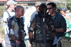 Elysium filming in Mexico | Matt Damon