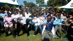 Kenyan Wedding Flashmob: Chris & Roni... A celebration indeed