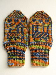 """This is not a complete pattern, more like a guideline and charts for my """"Tuut tuut""""-mittens. Baby Mittens, Knit Mittens, Knitted Gloves, Knitting Books, Knitting For Kids, Baby Knitting, Crochet Stitches, Knit Crochet, Fingerless Mitts"""