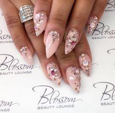 Bejeweled stilettos