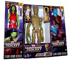 Spider Black Panther Marvel avengers Titan Hero Série 4 Pack Power FX Fer