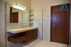 Bathroom Interior Design, Bathroom Designs, Small Bathroom, Mirror, Luxury, Architecture, Construction, Club, Furniture