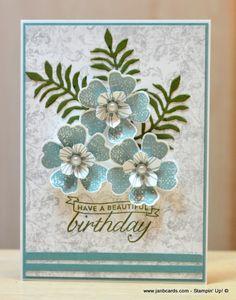 JanB Handmade Cards Atelier: Timeless Textures Video