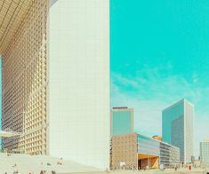 Ben Thomas' series Chroma seeks to find the simplicity and flatness in cities.