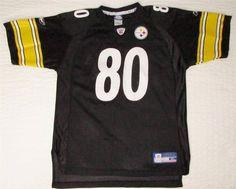 Youth NFL Reebok Pittsburgh Steelers   80 Burress Jersey sz Youth XL 18 20  EUC 18th 66a62dc5c