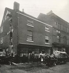 Henry Whitehurst & Sons Corn Merchants Warehouse built 1792 Mealhouse Lane they moved to a spot between Crown Street & Manor Street in Marks & Spencer have the spot now. Photo found by Ann Marie Kempster. Small Towns, North West, Warehouse, Sons, England, Crown, Street, Corona, My Son