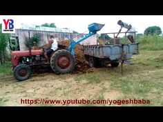 Indian amazing tractor farm equipment dump technology machinery - YouTube