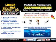 """DaF-Übungen mit Vídeos: die Nachrichten mit """"Tagesschau"""" (Exercícios de Alemão com Vídeo: As notícias com """"Tagesschau"""" )"""