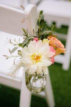 Ceremony flowers: http://www.stylemepretty.com/little-black-book-blog/2014/09/25/pink-san-diego-botanic-garden-wedding/ | Photography: heidi-o-photo - http://heidiophoto.com/