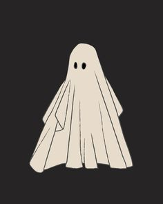 Halloween Cartoons, Halloween Ghosts, Vintage Halloween Posters, Halloween Wallpaper Iphone, Fall Wallpaper, Sheet Ghost, Ghost Tattoo, Halloween Illustration, Cute Ghost