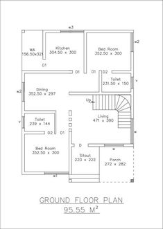 1500 Suare Feet 3 BHK Beautiful Home Design for 20 Lakh, budget house plans in south india, low cost kerala home plans, Best website for free house plans in India Low Cost House Plans, 2bhk House Plan, Free House Plans, Three Bedroom House Plan, Model House Plan, House Layout Plans, Duplex House Plans, Bungalow Floor Plans, Home Design Floor Plans