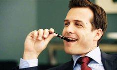 Gabriel Macht (Harvey Specter) Can I be the pen?