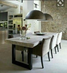 Learn How to Decorate Your Home Belgian Style Dining Room Table Belgian decorate home learn style Dining Room Inspiration, Interior Inspiration, Sweet Home, Dining Table Design, Dining Area, Contemporary Dining Table, Pool Table Dining Table, Modern Dining Room Tables, Home Fashion